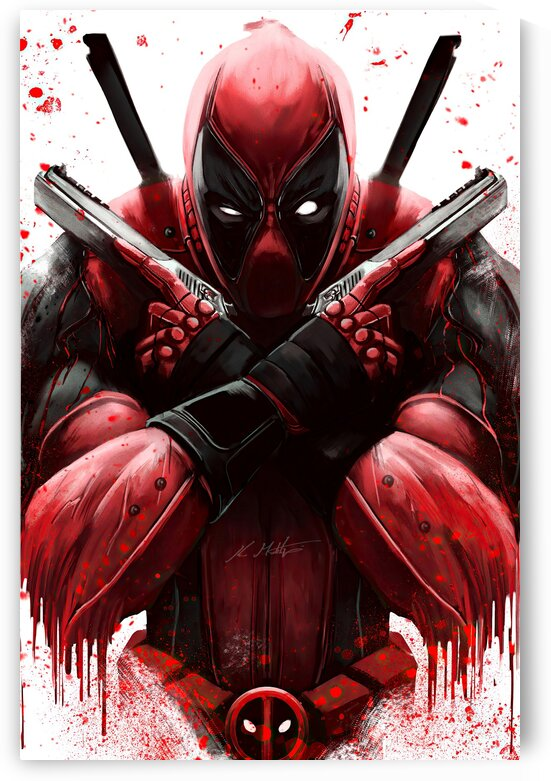 deadpool by PHOENIX
