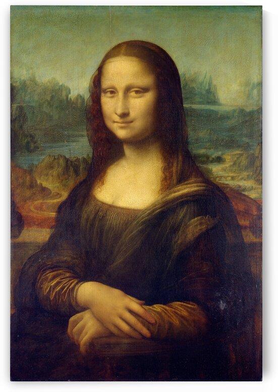 Mona Lisa by Leonardo da Vinci by PHOENIX
