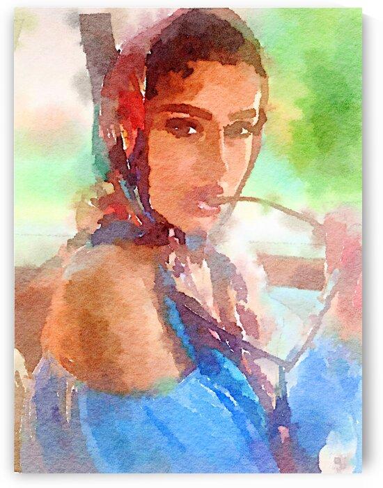 Carmen and sunglasses by Kath Sapeha
