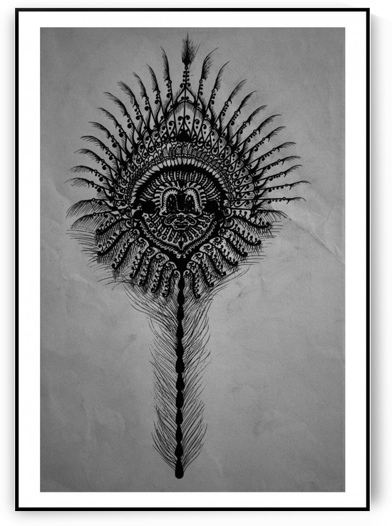 Peacock Feather by Dayalan Oviyan