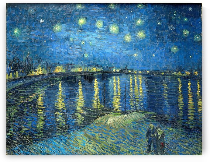 Starry Night Over the Rhone PRINT - FREE delivery by ArtbyArt