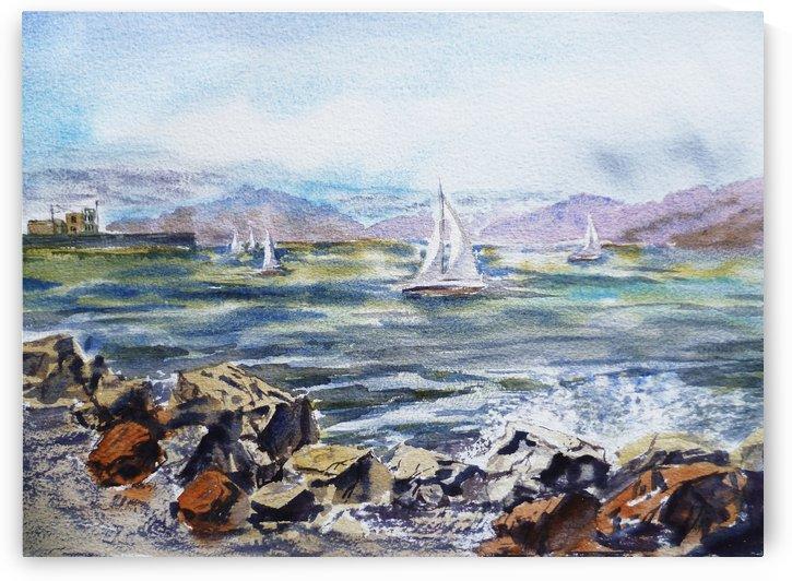 San Francisco Bay by Irina Sztukowski