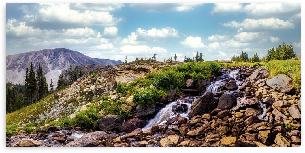 South St. Vrain Creek: Indian Peaks Wilderness by Scene Again Images: Photography by Cliff Davis