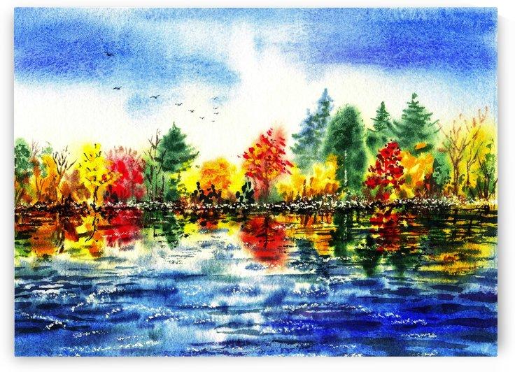 Fall Reflections by Irina Sztukowski