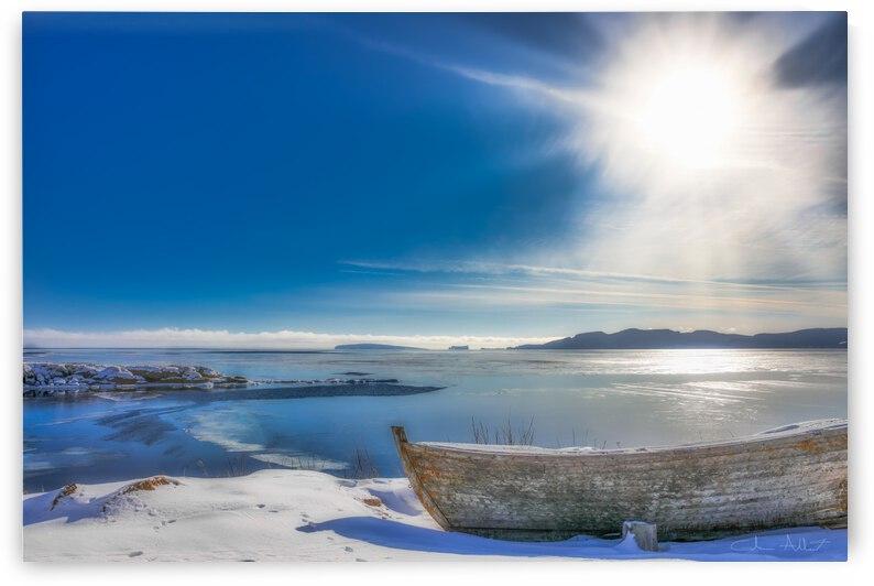 Chaloupe de Belle-Anse hiver by Glenn Albert