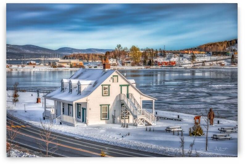 Premiere neige sur Gaspe by Glenn Albert