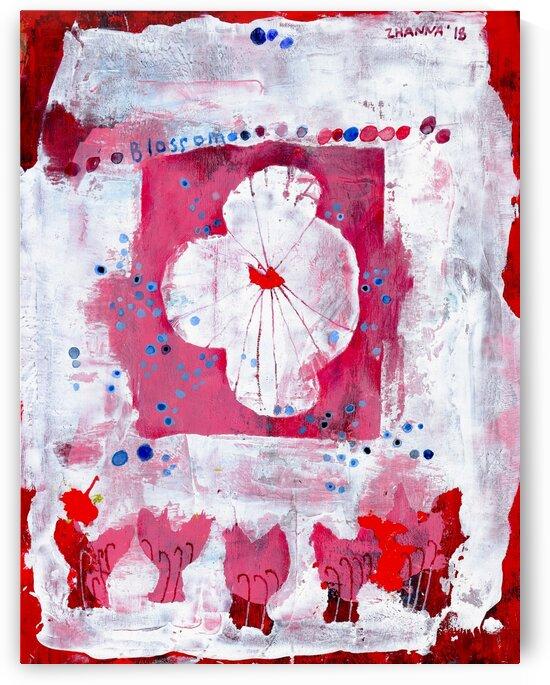 Blossom by Zhanna Shomakhova