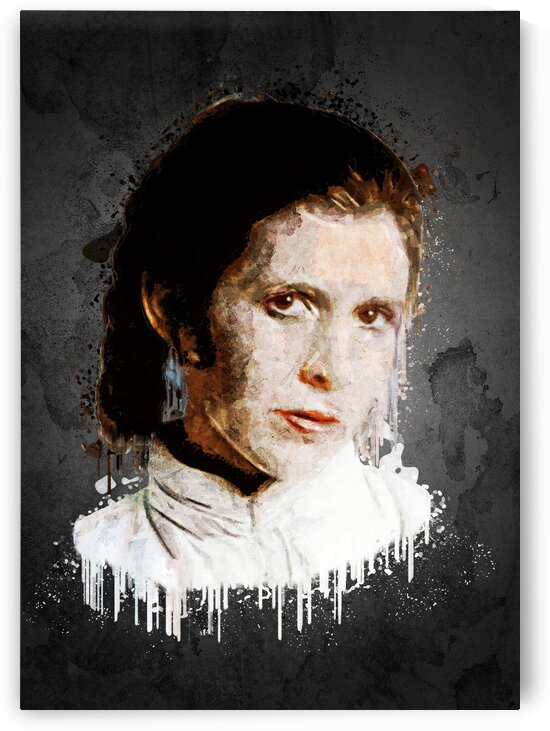 Carrie Fisher by Gunawan Rb