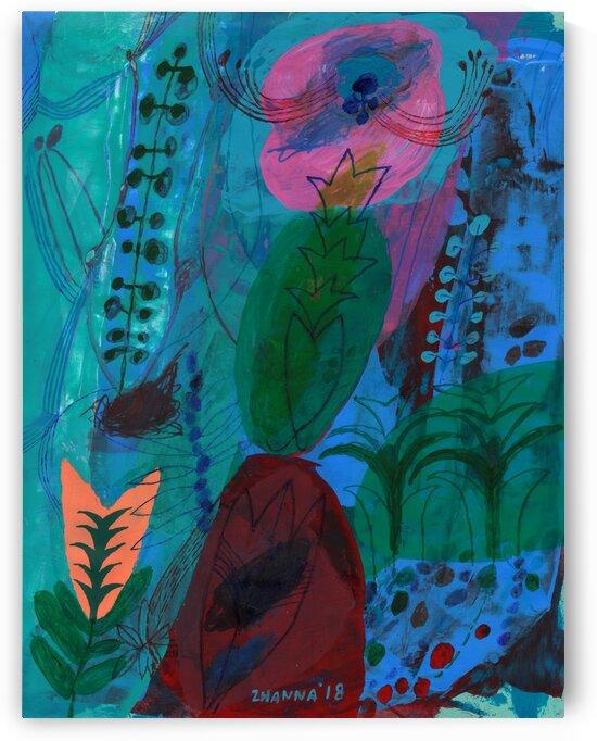 In The Soft Summer Darkness by Zhanna Shomakhova