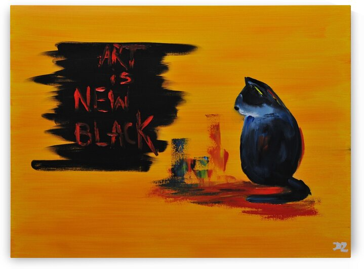 art is new black by DaoZedd