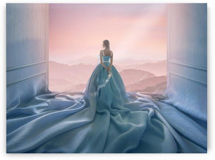 The blue room by Elena Vizerskaya