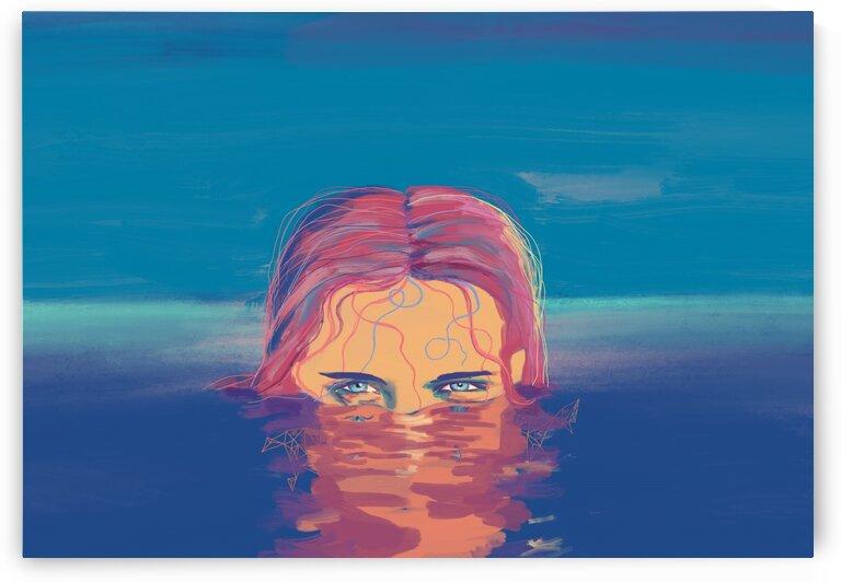 blue sight by Elena Vizerskaya