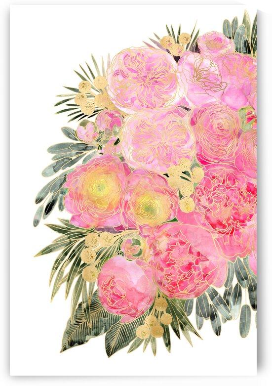 Rekkacolorfulwatercolorpeonybouquetinpastelpink 3  by blursbyai