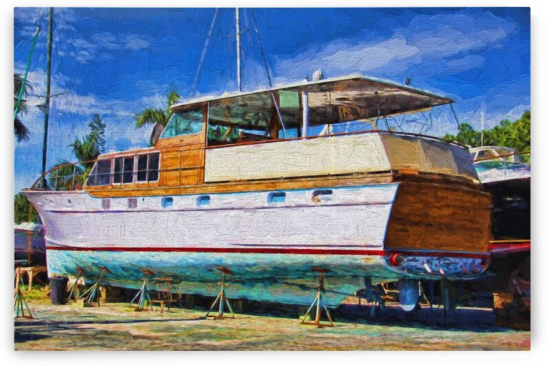 Drydocked In Cortez by HH Photography of Florida