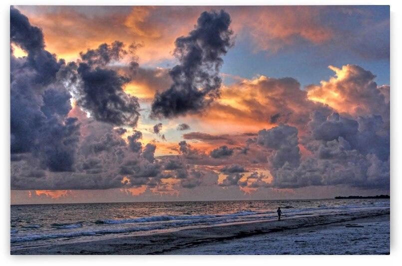 Beach Walk-Florida Seascape by HH Photography of Florida
