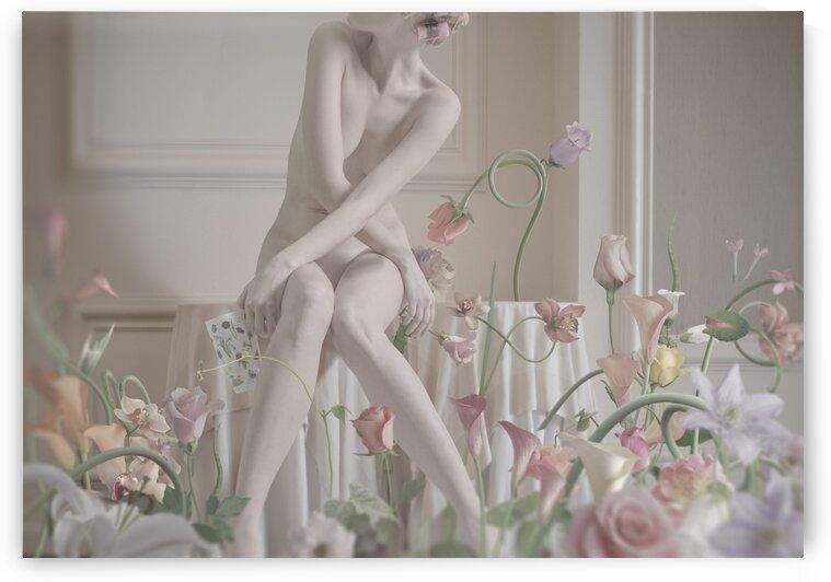 Pastel morning at home by Elena Vizerskaya