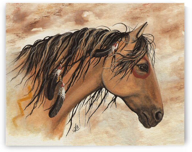 Hopa Curly Horse by AmyLyn Bihrle