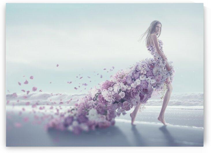 Flower Dress by Elena Vizerskaya