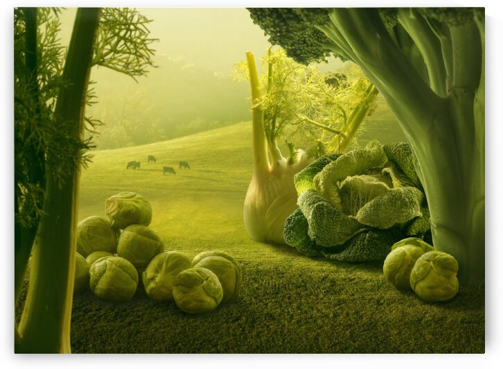 lush greens by Elena Vizerskaya