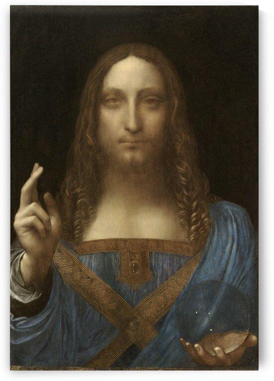 Leonardo da Vinci Salvator Mundi by PHOENIX