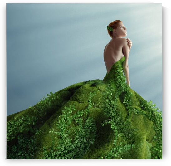 Green beauty by Elena Vizerskaya