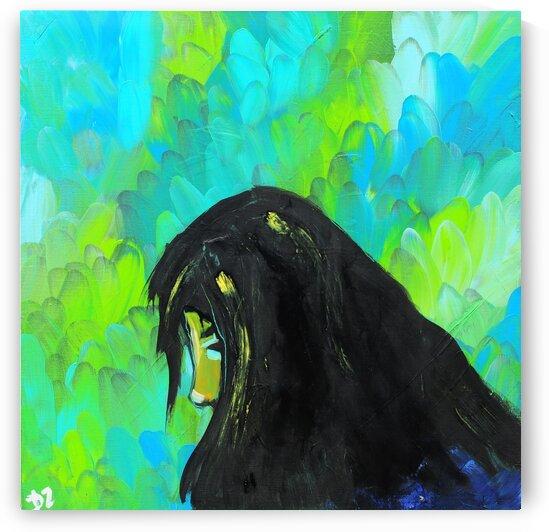 Woman in green by DaoZedd