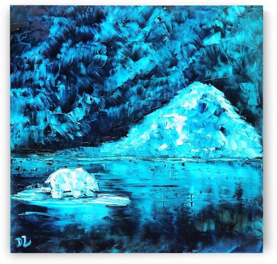White bear by DaoZedd