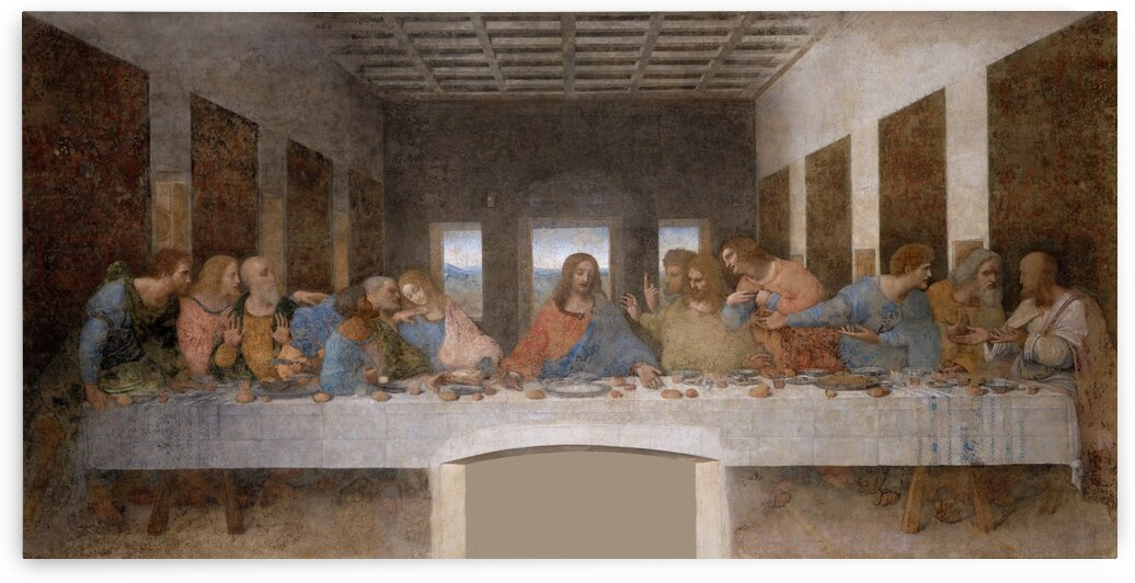 The Last Supper Leonardo Da Vinci by PHOENIX