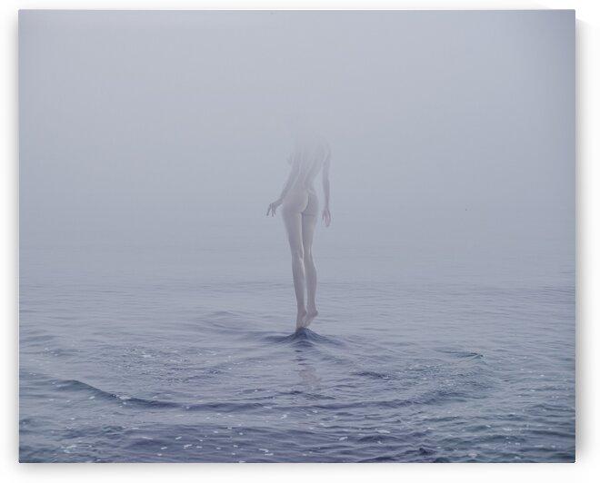 nude at wave by Elena Vizerskaya
