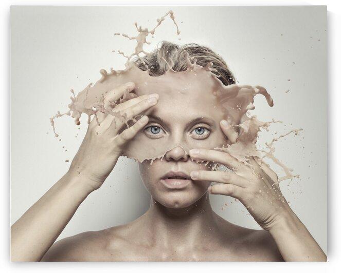 Splash of Face by Elena Vizerskaya