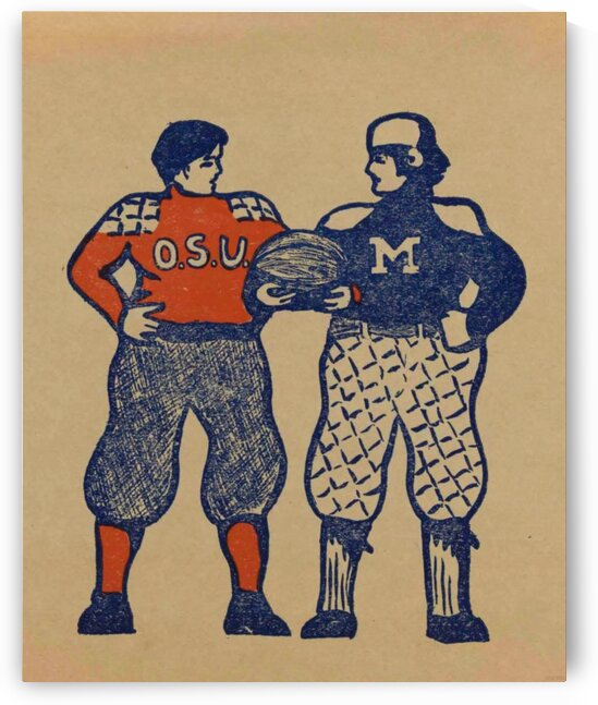 1901 Ohio State vs. Michigan by Row One Brand
