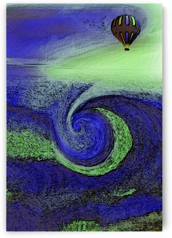 Up Up and Away  by Aurelia Schanzenbacher Sisters Fine Arts