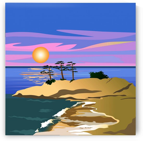 Vacation Island 1_OSG by One Simple Gallery