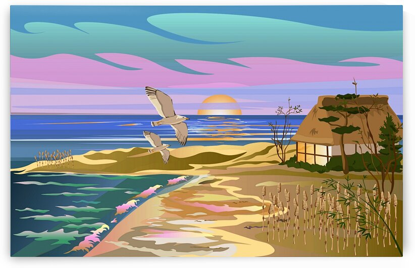 Vacation Island 2_OSG by One Simple Gallery