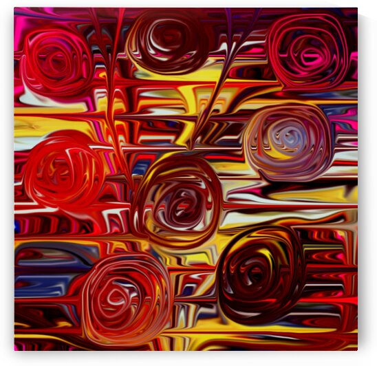 Abstract Roses by CvetiArt