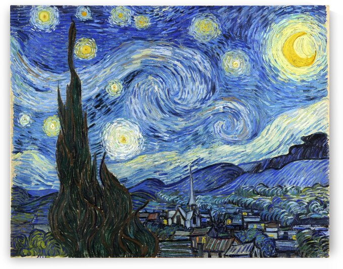 starry night print by ArtbyArt