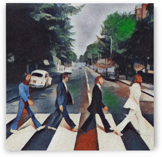 Abbey Road The Beatles by Bob Frase