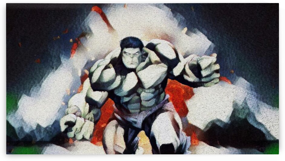 Hulks Explosion by Bob Frase