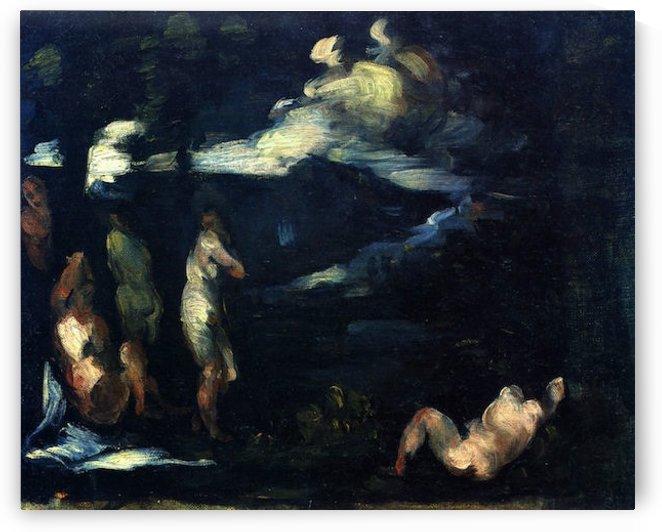 More Bathers by Cezanne by Cezanne