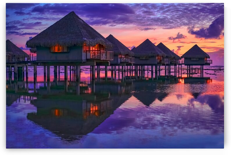 Twilight in Tahiti by James Radford
