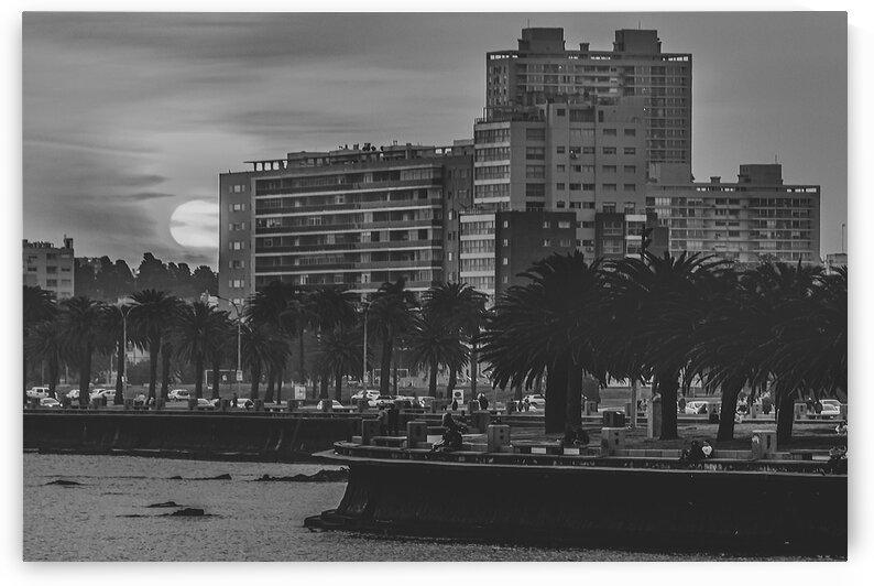 SunsetCoastalUrbanSceneMontevideoUruguay by Daniel Ferreia Leites Ciccarino