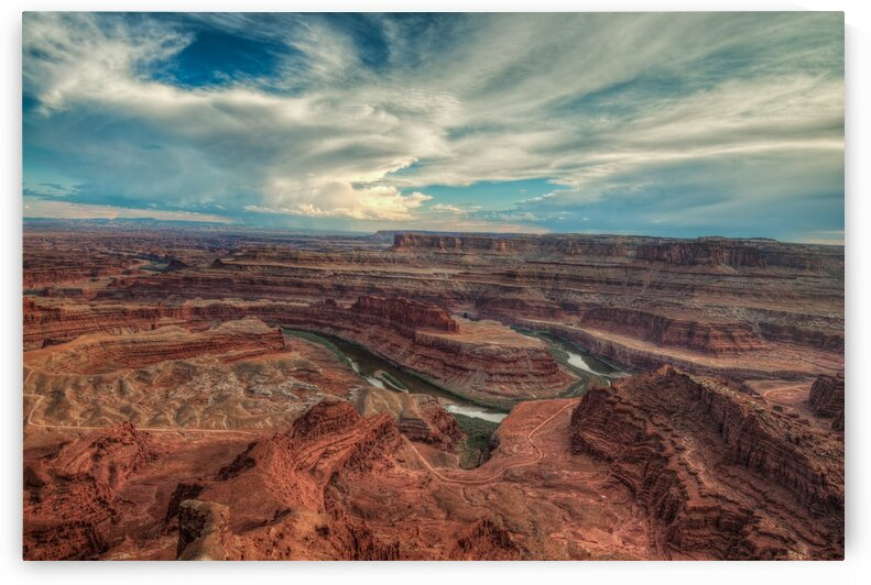 DEAD HORSE CANYON-UTAH-2 by Bill Sherrell