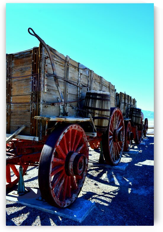Death Valley National Park - Wooden Wagon by Marco Menezes