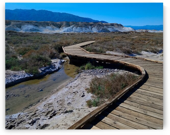 Death Valley National Park - Wooden Walkway by Marco Menezes