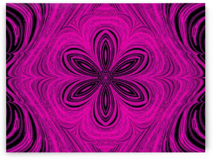Hot Pink Star Flower by Sherrie Larch