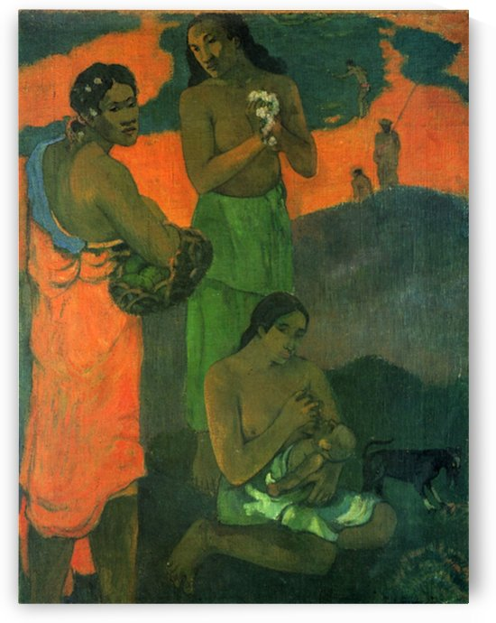 Motherhood by Gauguin by Gauguin