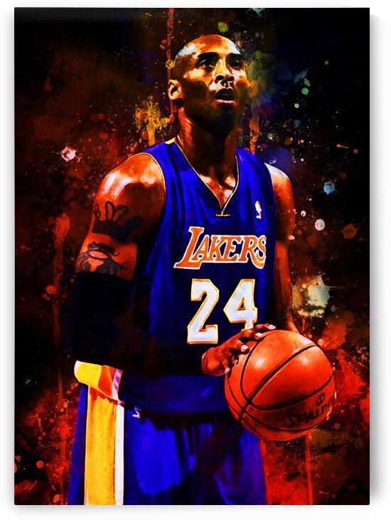 Kobe Bryant by Coolbits Art