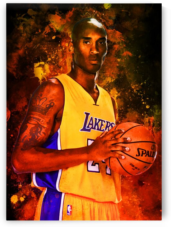 Kobe Bryant by Coolbits Art