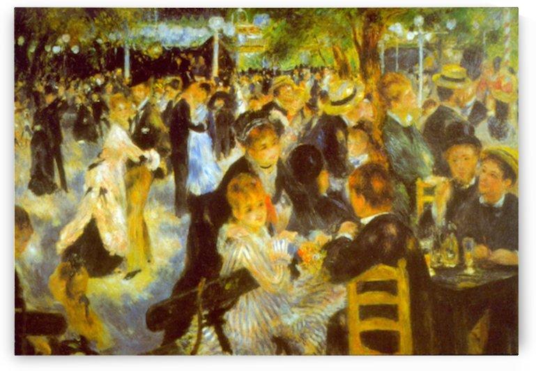 Moulin Galette by Renoir by Renoir