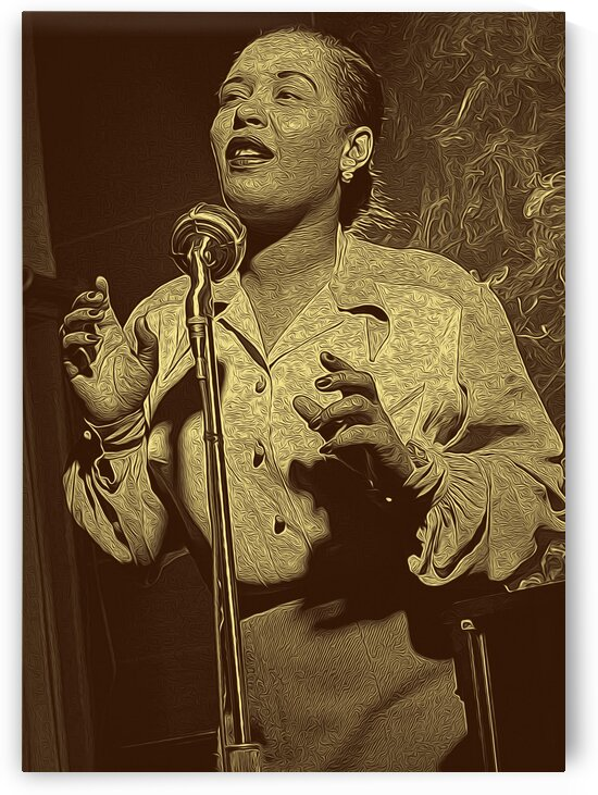 Billie Holiday American singer Collection 15 by RANGGA OZI